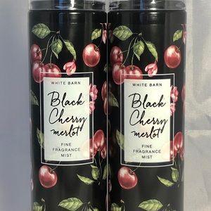 🆕Bath & Body Works Black Cherry Merlot Mist X2